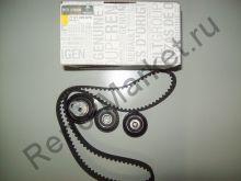 Комплект ГРМ (ремень+ролики) (двигатель 1.8 16V и 2.0 16V)  7701476674 оригинал