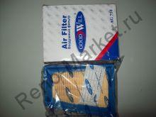 Фильтр воздушный (Logan 1,6 16V) Goodwill AG710 аналог 7701045724, 8200431051