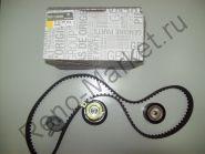 Комплект ГРМ (ремень+ролики) (двигатель 1,6 16V) Renault оригинал 7701477014, 130C17529R
