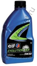 Масло моторное ELF EVOLUTION SXR 5W30 1 л синтетика