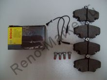Тормозные колодки передние (Logan) Bosch 0986467720 аналог 7701208265, 7701207066, 6001547911, 6001547619