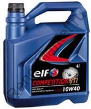 Масло моторное ELF COMPETITION STI 10W40 4л полусинтетика